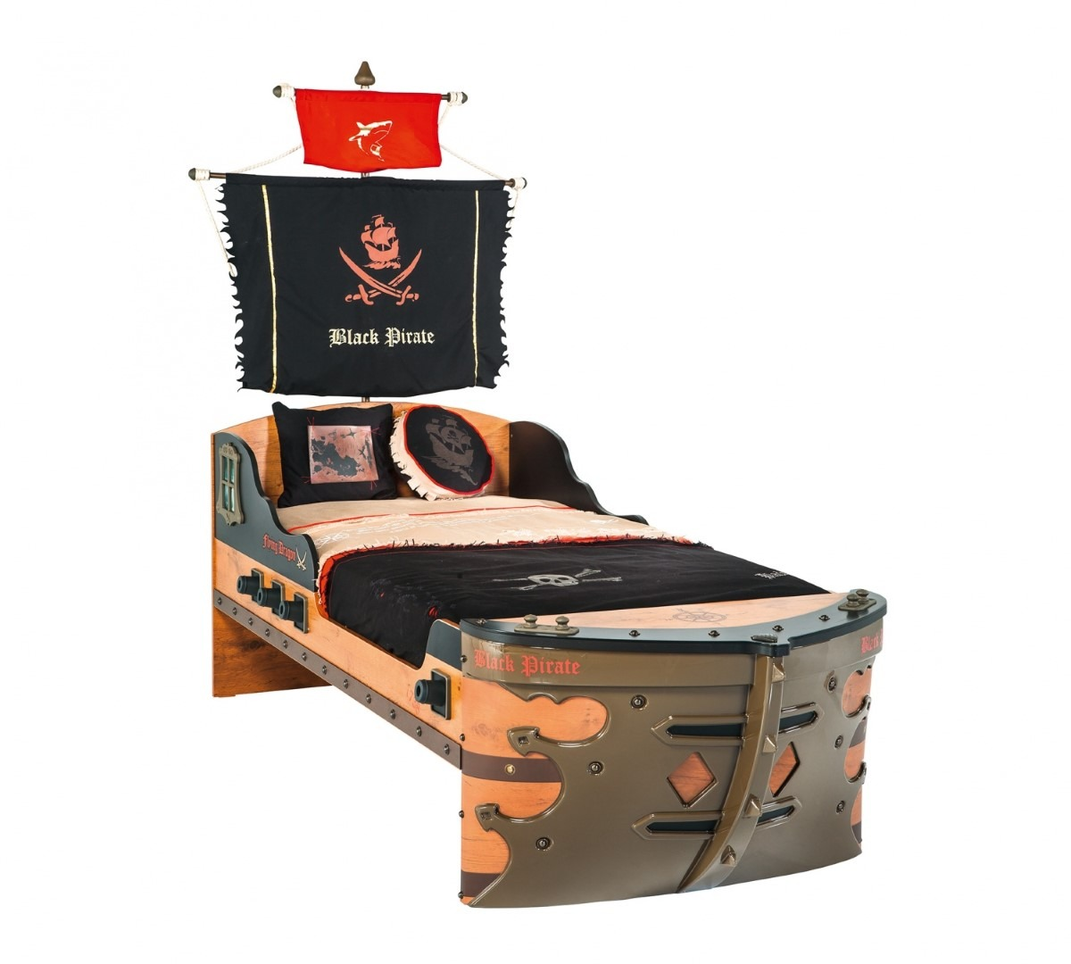 Black-Pirate-S-Ship-Bed1