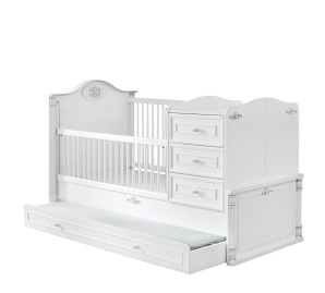 Romantic Convertible Baby Bed