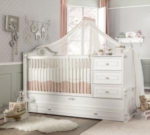 מיטת תינוק מתרחבת רומנטיק