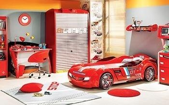 מיטת מכונית מעוצבת