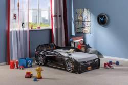 מיטת מעבר מכונית בצבע שחור