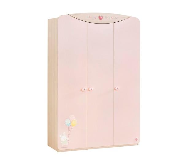 ארון 3 דלתות לחדר תינוק בייבי גירל