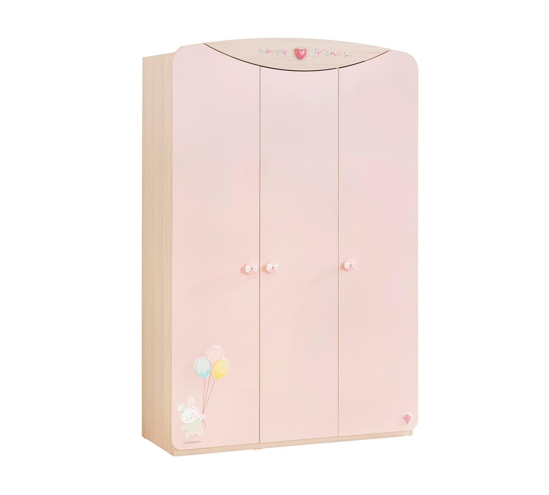 מעולה ארון 3 דלתות Baby Girl | דרים לנד - חדרי ילדים ותינוקות רהיטים ZU-28