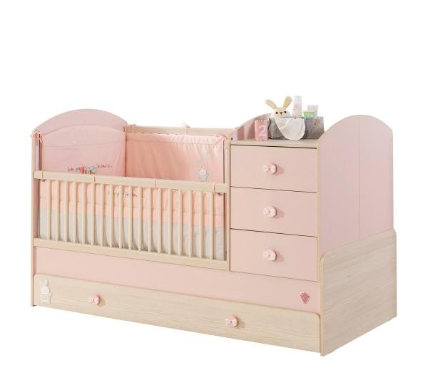 מיטת תינוק מתרחבת נפתחת בייבי גירל