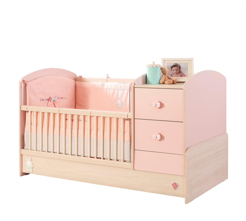 מיטת תינוק בייבי גירל 1.60