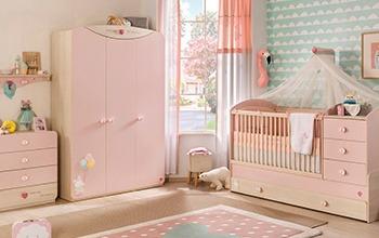 חדר תינוק בייבי גירל