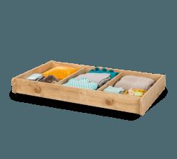 מגירה למיטת תינוק מוקה