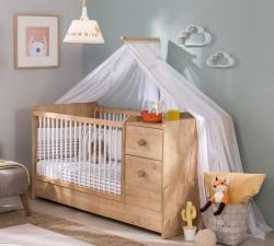 מיטת תינוק מוקה בייבי 1.60