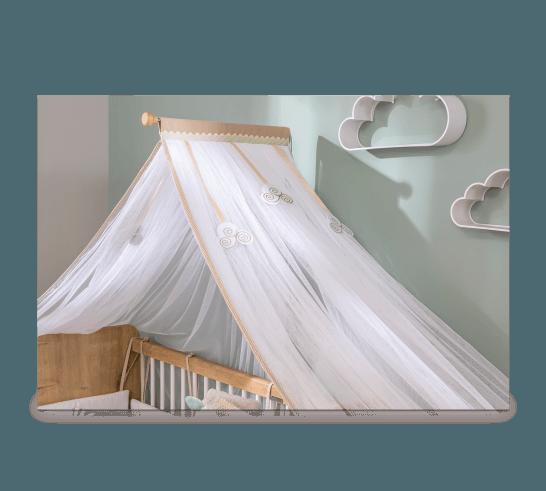כילה למיטת תינוק מוקה