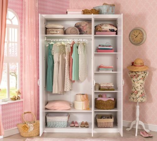 כולם חדשים ארון 3 דלתות סלינה | דרים לנד - חדרי ילדים ותינוקות רהיטים מעוצבים YY-55