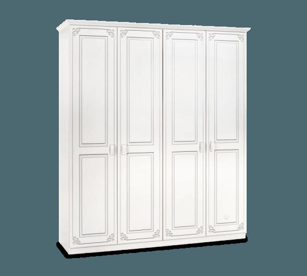ארון 4 דלתות מסדרת סלינה