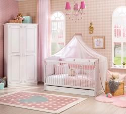 מיטת תינוק סלינה עם מגירה נפתח