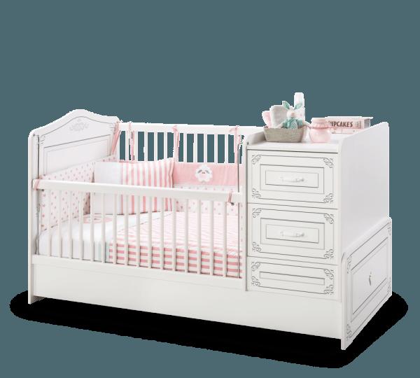 מיטת תינוק מתרחבת סלינה בייבי