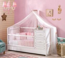 מיטת תינוק שהופכת למיטת יחיד