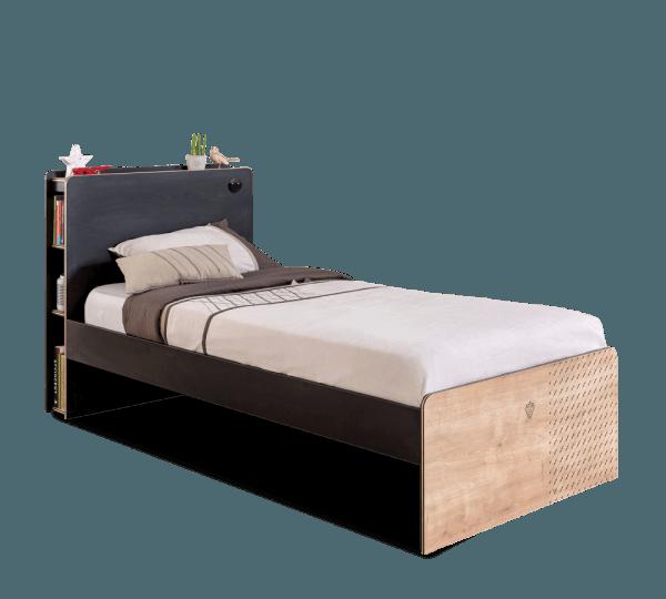 מיטה 100X200 בלק